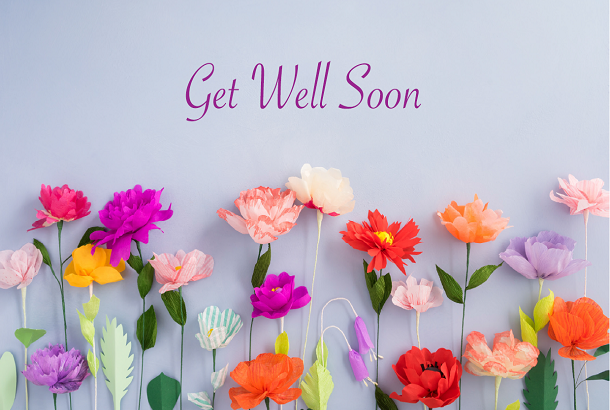 Get Well Soon - Flowers