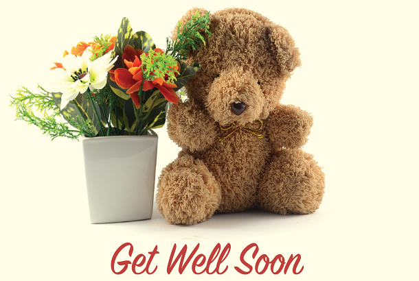 Get Well Soon - Teddy Bear
