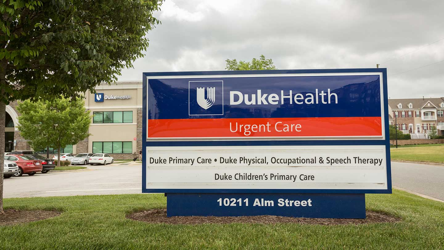 Duke Urgent Care Brier Creek Is Conveniently Located Near The Brier Creek  Shopping Center At 10211 Alm Street In Raleigh, Nc We Are In The Same  Building As