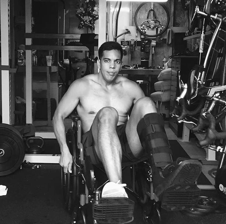 Mendez focused on weight training to regain strength in his leg