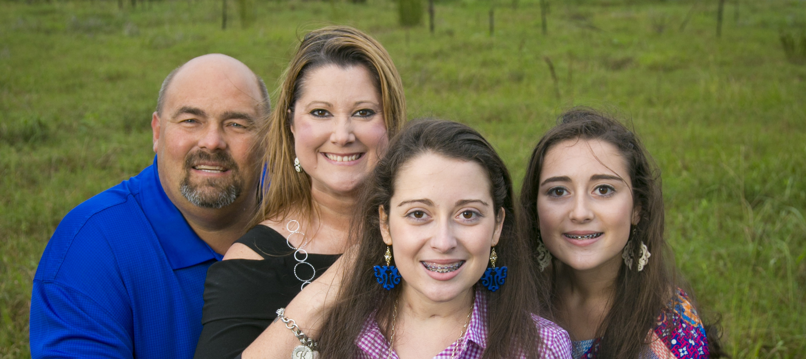 Lindsey Tew and her family