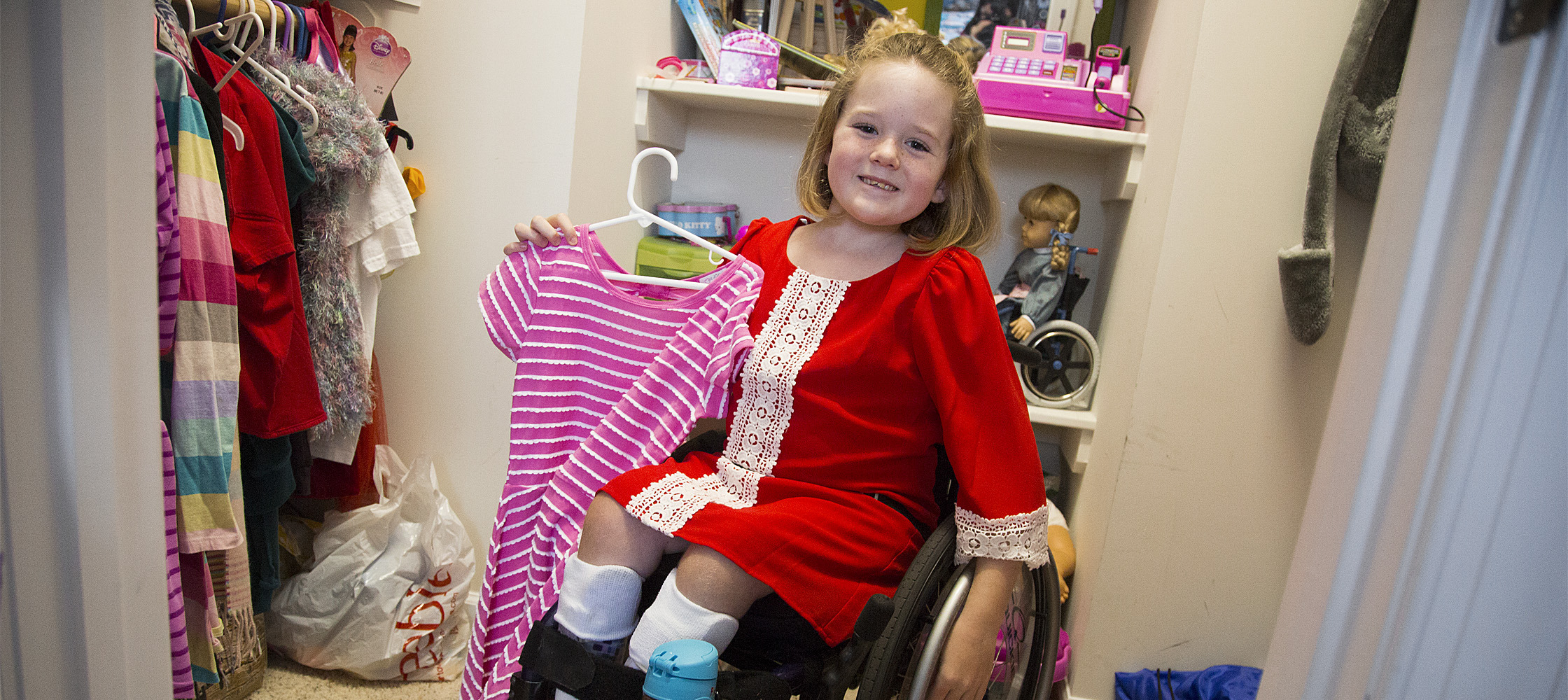 Aubrey Parks is able to wear dresses thanks to the newly FDA-approved MAGEC rod implanted in her back.
