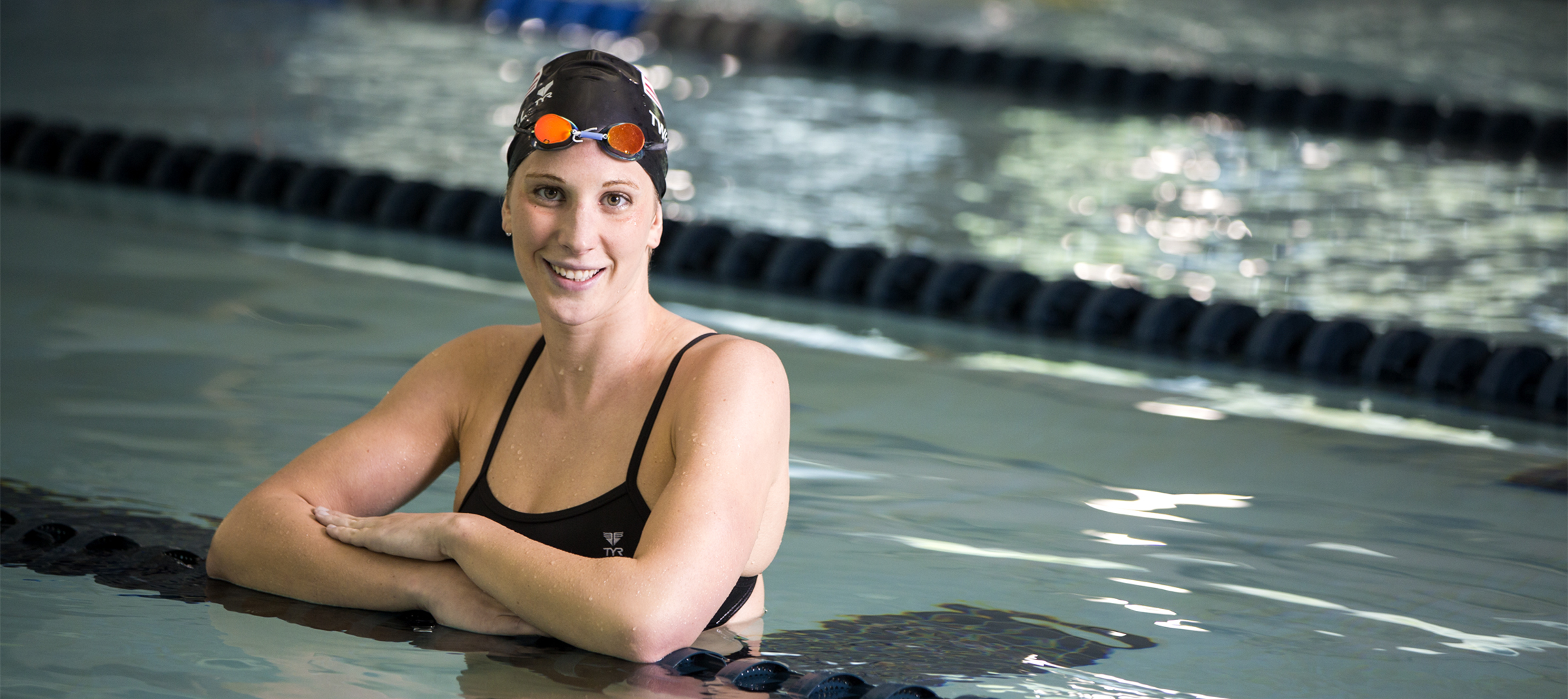 Shoulder surgery at Duke helped swimmer Ashley Twichell compete for Olympic spot