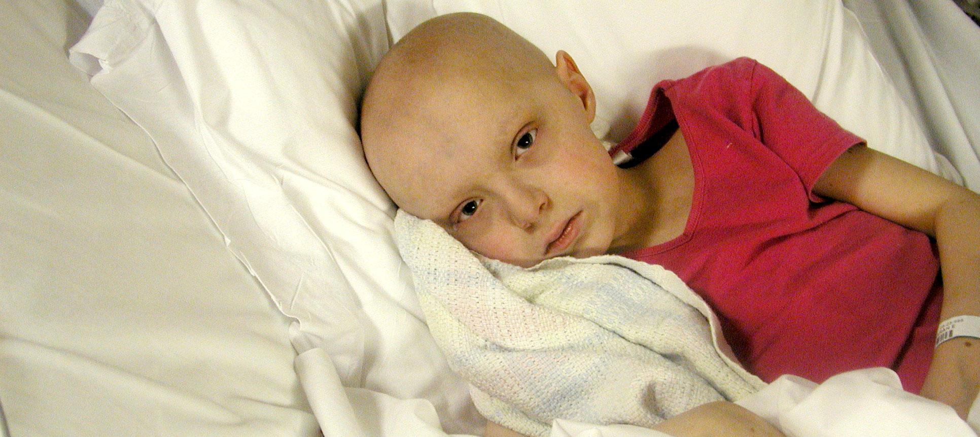 Sarah was diagnosed with neuroblastoma that had metastasized throughout her body.