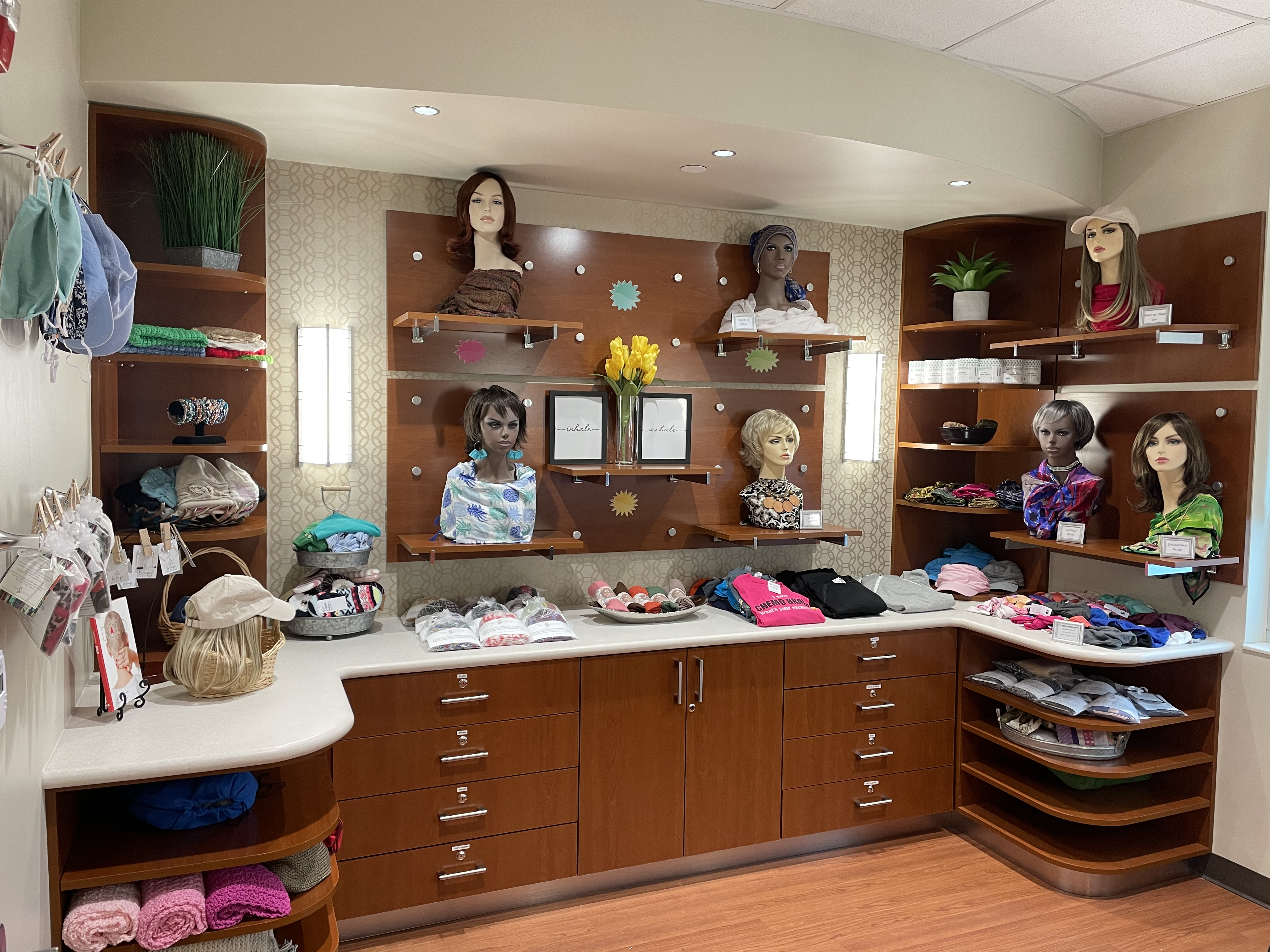 A boutique for wigs and other cancer care needs