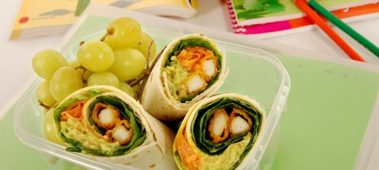 Put a Healthy Spin on School Lunch
