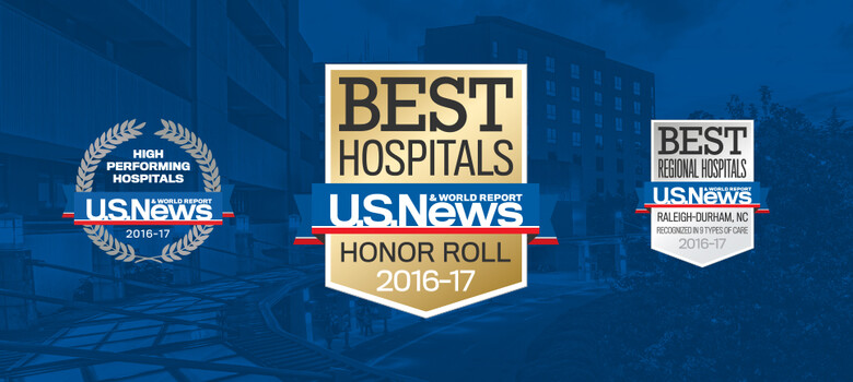Duke Again Among Top Ranked U.S. Hospitals