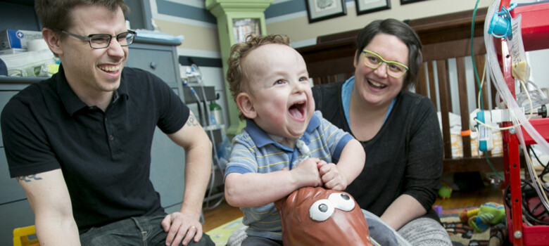 Clinical Trial Saves Baby's Lungs