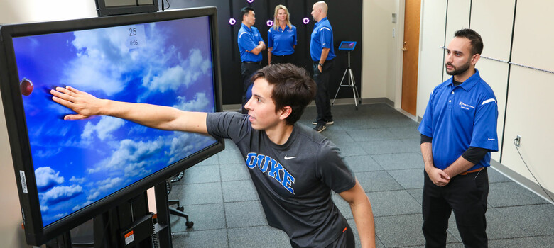 New Duke Sports Vision Center Focuses on High-Performance Vision Rehab and Training