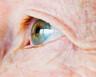 A close-up of a man's eyes