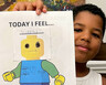 A boy works through feelings about his mother's cancer during a virtual KidsCan! session. 