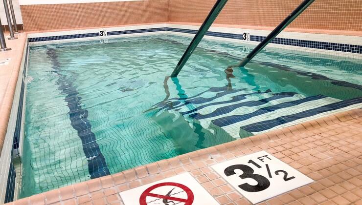 Duke Health & Fitness Center pool