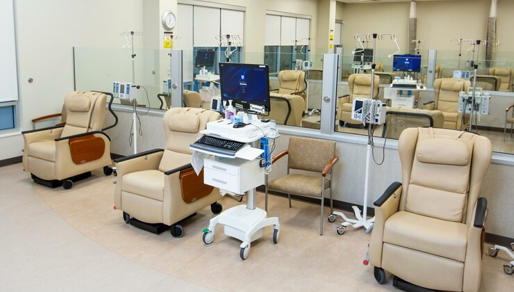 The infusion room