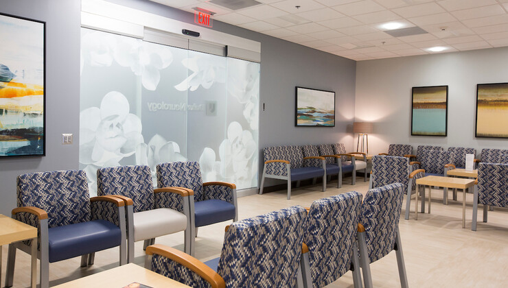 Duke Health Center South Durham waiting room