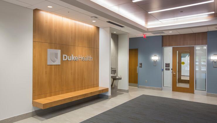 Duke Health Heritage internal hallway