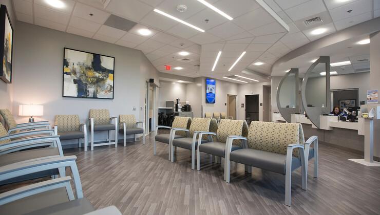 Duke Orthopaedics of Heritage waiting room