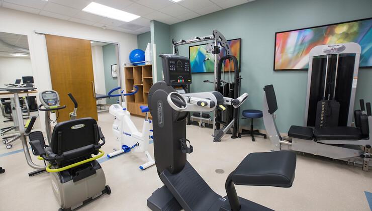 Duke Orthopaedics of Heritage patient gym/training/rehab