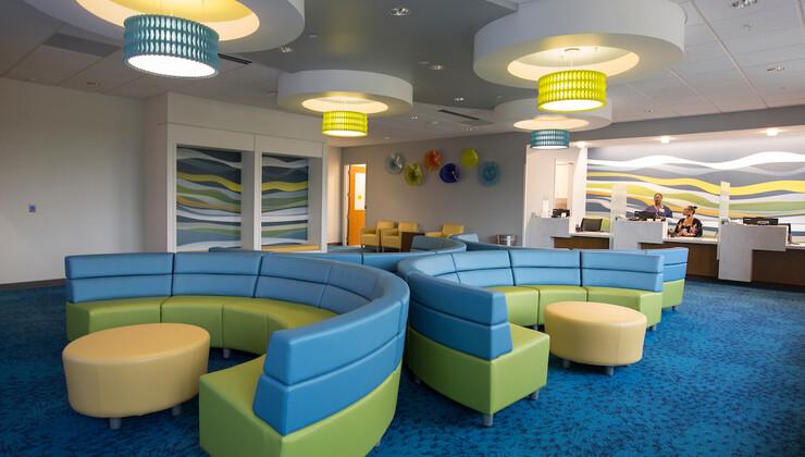 Duke Primary Care Heritage Pediatrics waiting room