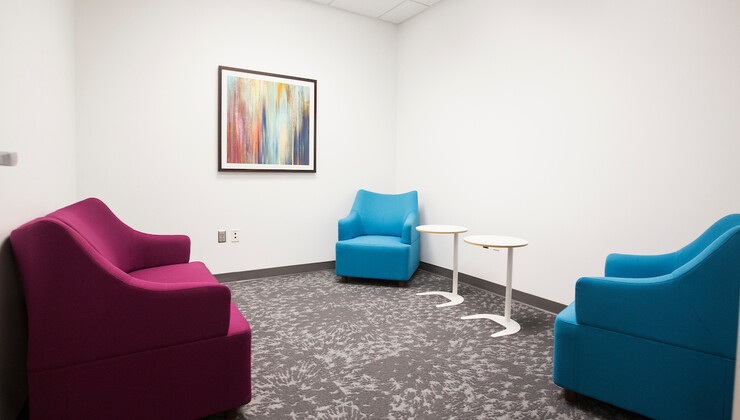 Primary Care Heritage Pediatrics patient room