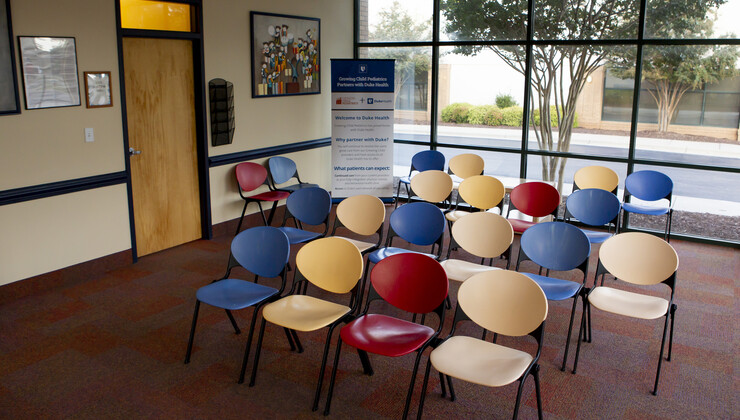 Growing Child Brier Creek waiting room
