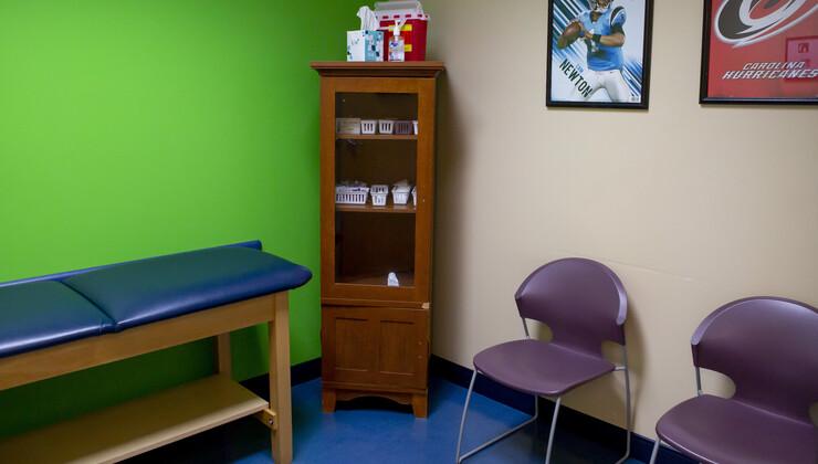 Growing Child Brier Creek patient room