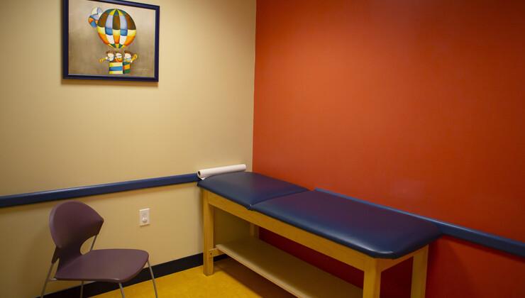 Growing Child Brier Creek patient room 2