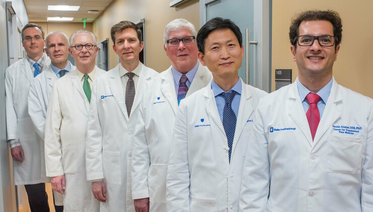 Providers at Duke Innovative Pain Therapies at Brier Creek