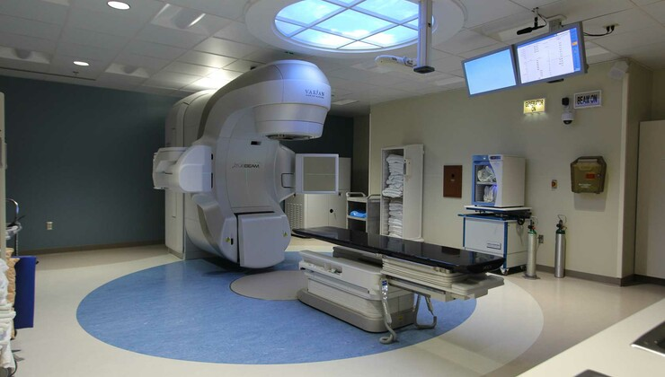 Linear accelerator at Duke Cancer Center Raleigh Radiation Oncology