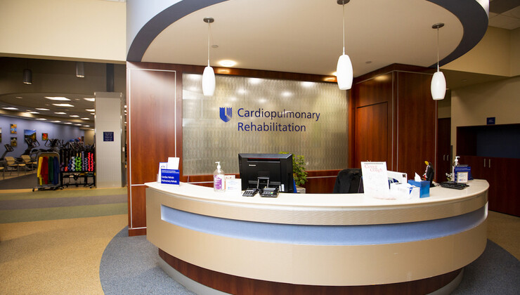 Duke Cardiopulmonary Rehabilitation at Croasdaile Check-In Area