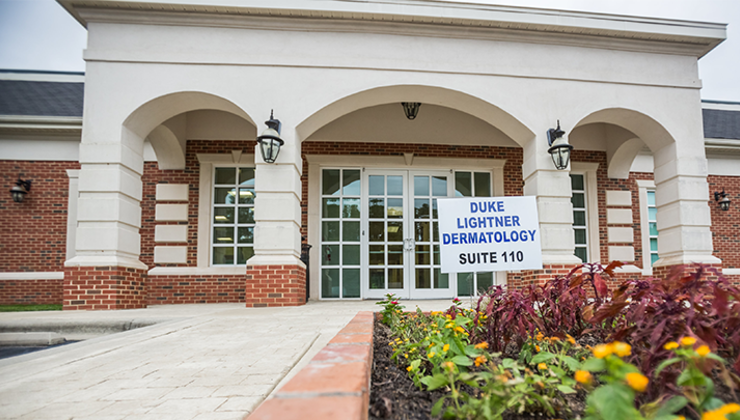 Duke Lightner Dermatology is conveniently located at 11081 Forest Pines Drive, Suite 110, in Raleigh, NC.