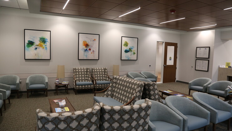 Duke Primary Care Pickett Road Waiting Room
