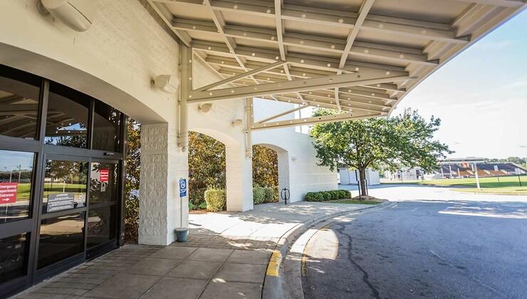 Duke Regional Hospital Emergency Room Entrance
