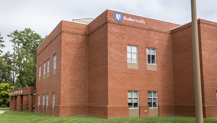 The Duke Outpatient Clinic is located at 4220 North Roxboro Street in Durham, NC.