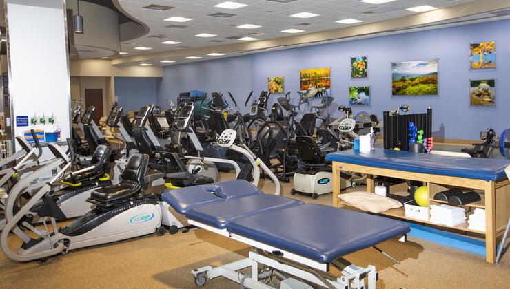 Examination Area at Duke Cardiopulmonary Rehabilitation at Croasdaile