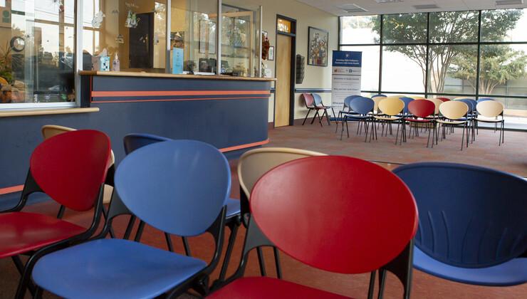 Growing Child Pediatrics at Brier Creek waiting room 2