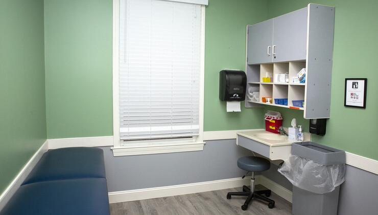 Growing Child Pediatrics at Clayton exam room 2