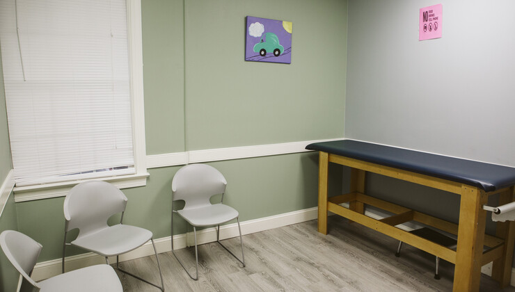 Growing Child Pediatrics at Knightdale exam room