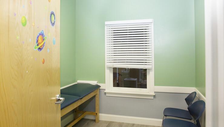 Growing Child Pediatrics at Zebulon exam room