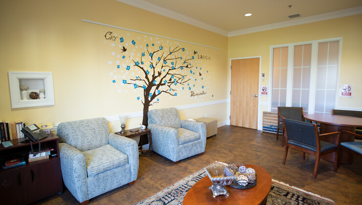 Another meditation room found at Hock Family Pavilion.
